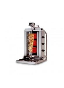 Électrique 40kg (mobile) - Machine Grill à Kebab 3 brûleurs