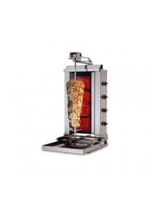 Électrique 60kg (mobile) - Machine Grill à Kebab 4 brûleurs