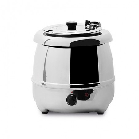 Chauffe soupe électrique 10L pro en inox