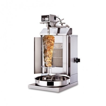 Machine Grill à Kebab GAZ 1 brûleur 5kg