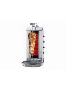 Machine Grill à Kebab 80kg GAZ 4 brûleurs