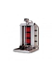 Machine Grill à Kebab 40kg GAZ (mobile) 3 brûleurs