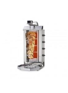 GAZ 80kg  - Machine Grill à Kebab 4 brûleurs