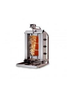 GAZ 40kg (mobile)  - Machine Grill à Kebab 3 brûleurs